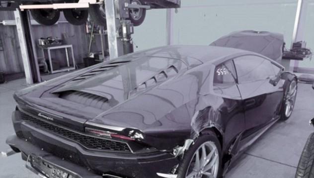 Lamborghini Huracan за 1 долар