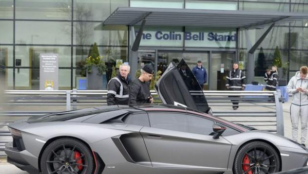 Lamborghini-то на Самир Насри се озова на наказателен паркинг