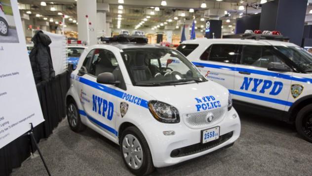 Полицията в Ню Йорк избира Smartfortwo