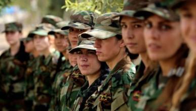 Жени ще се изправят срещу ISIS