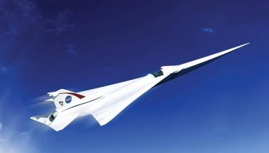 NASA работи върху нов свръхзвуков самолет