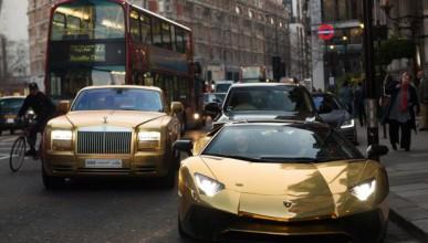Милионер пренесе златните си автомобили в Лондон