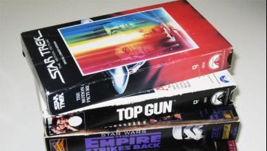 Не изхвърляй старите видео касети