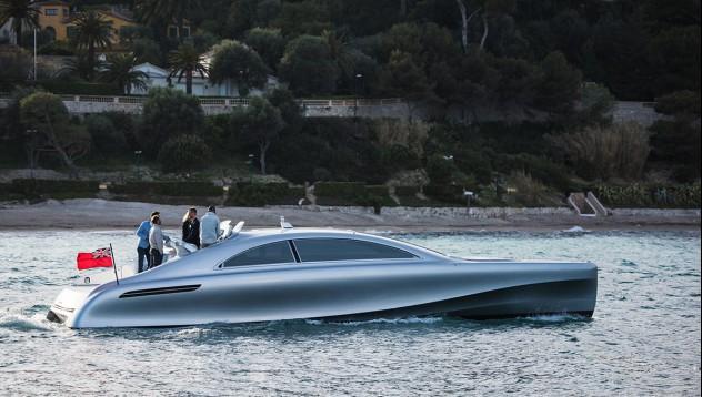 Mercedes-Benz представят своята нова яхта