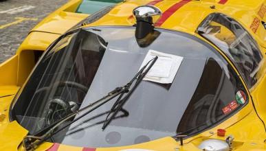 Полицаи успяха да глобят най-скъпата кола в света