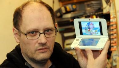 Употребявано Nintendo DS пълно с порно