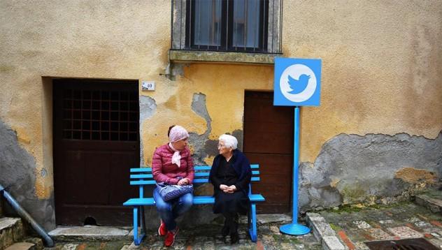 Италианско селце демонстрира интернет в реалния живот