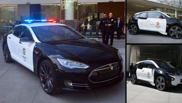 Полицията в Лос Анджелис ще заложи на Tesla S