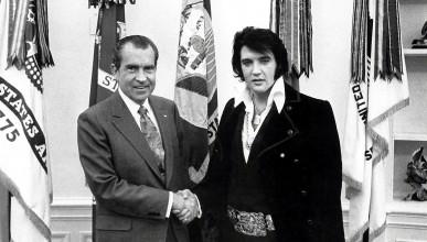 Елвис поискал значка от ФБР, за да носи наркотици в себе си