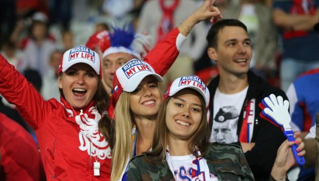 Руските фенки отсрамват хулиганите