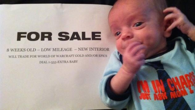 Да продадеш децата си в интернет