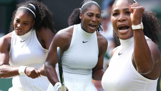 Серина Уилямс блесна с нещо повече от тенис