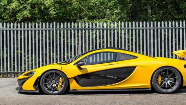 McLaren P1 само с 3 изминати мили за продан