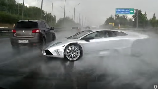 Lamborghini се разби с 200 километра в мантинела