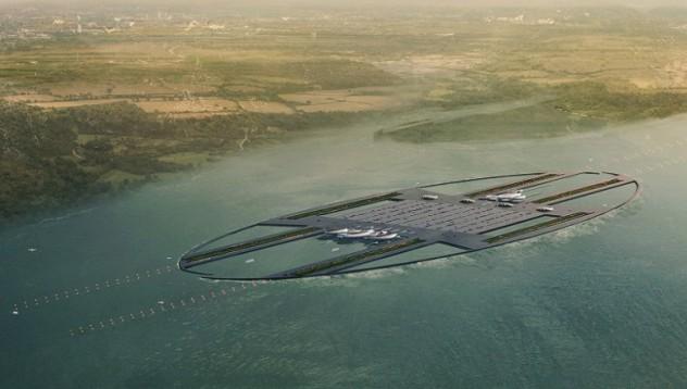 Летището на бъдещето ще се намира в океана