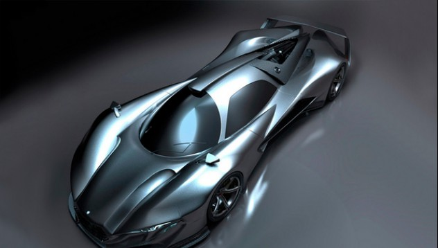 AMG пуска хиперавтомобил