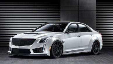 Cadillac CTS-V с 1000 конски сили от Hennessey Performance