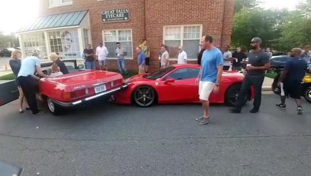 Да ти блъснат перфектно паркираното Ferrari