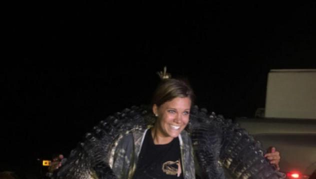 Запознайте се с дъщерята на ловеца на крокодили