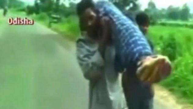 Да носиш своята починала жена 10 километра на гръб