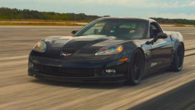 Електрически Corvette счупи рекорд за скорост