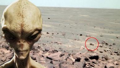 Откриха обувка на Марс