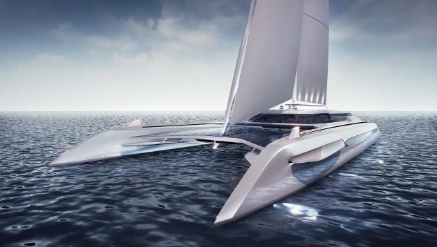 Това е яхтата на бъдещето