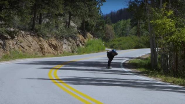 Това е най-бързият скейтбордист, който си виждал