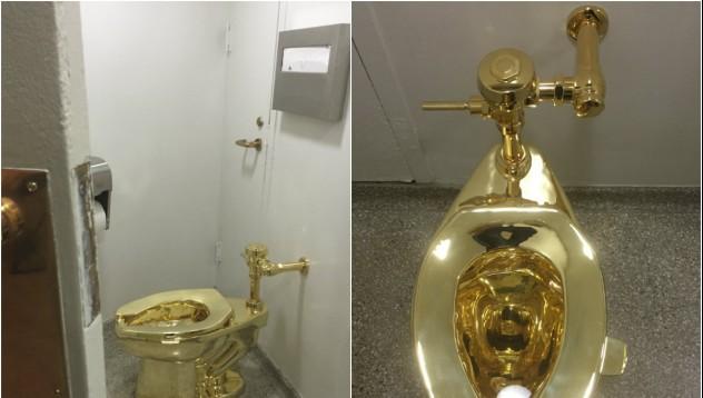 Сега можеш да седнеш на златна тоалетна безплатно