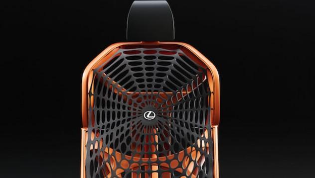 Lexus представя новата си седалка