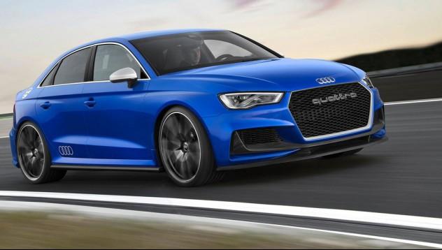 Новият Audi RS3 с 400 конски сили