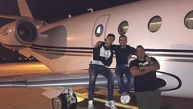 Самолетът на Роналдо катастрофира