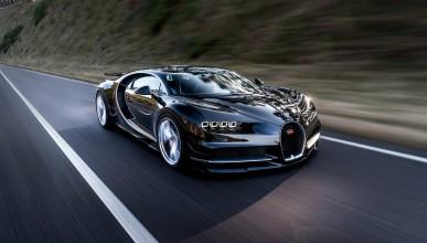 Bugatti Chiron може да вдигне 456 км/ч