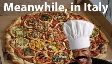Лагер за почитателите на пица