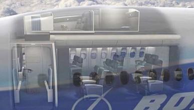 Тайната самолетна кабина за стюардесите