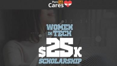 Pornhub плаща стипендия