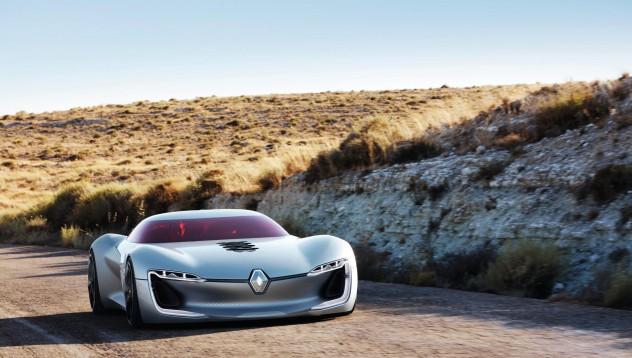 Renault представя спортен електромобил от бъдещето
