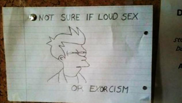 Как се лекуват шумните секс съседи
