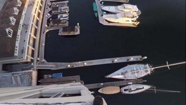39-метров екстремен скок изправи властите на нокти