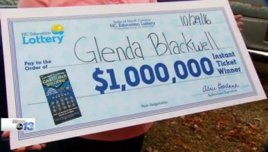 Жена спечели 1 милион долара от лотарията