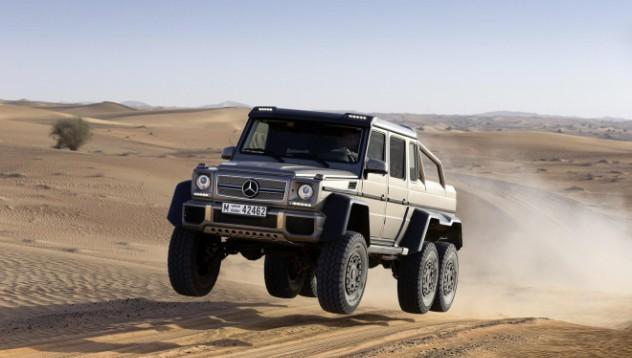 Колко струва Mercedes-Benz 6x6 на Brabus