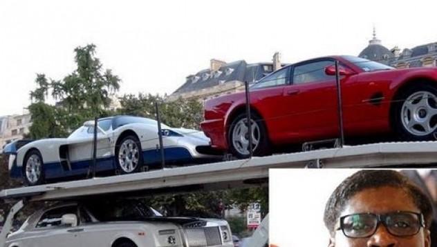 Швейцарски власти конфискуваха колекция от суперавтомобили