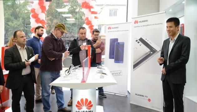 Huawei откри първия център за обслужване в България