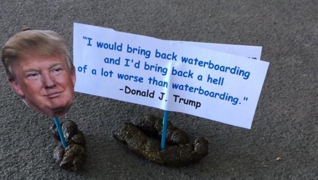 Доналд Тръмп се превърна в изкуство