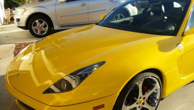 Ferrari с двигател на Infiniti