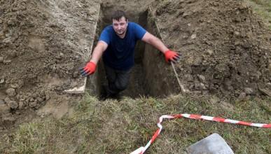 Състезание по копаене на гробове
