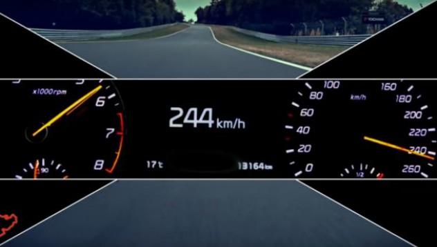 Спортната машина на Kia лети с 240 км/ч