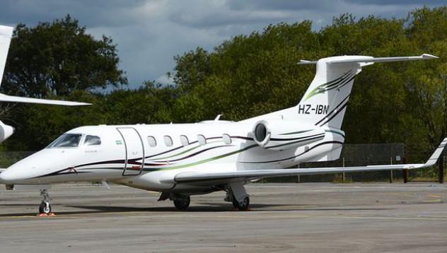 Частният самолет на Бин Ладен се разби