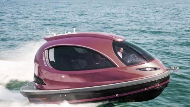 Иновативна яхта със 740 конски сили