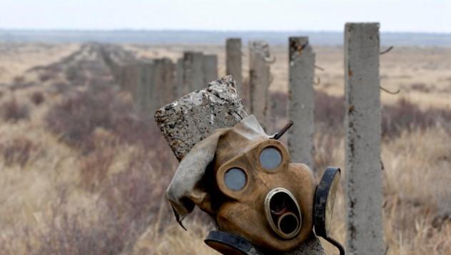 Атомният полигон на Съветския съюз е в Казахстан